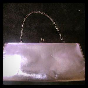 Handbags - Silver clutch💋